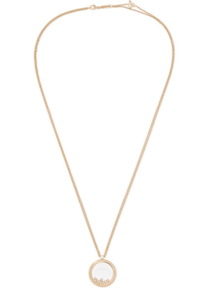 Chopard - Happy Diamonds 18-karat Gold Diamond Necklace - one size