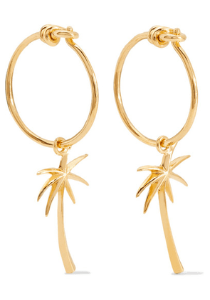 I+I - Gold-plated Earrings - one size