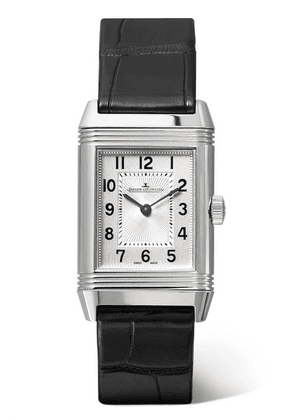 Jaeger-LeCoultre - Reverso Classic 21mm Small Stainless Steel And Alligator Watch - Silver