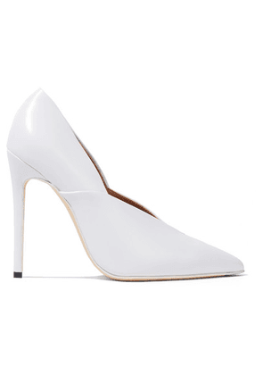 Victoria Beckham - Eva Leather Pumps - White