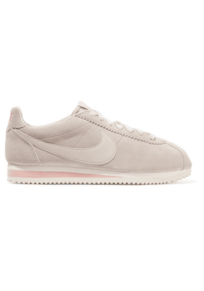 Nike - Classic Cortez Suede And Leather Sneakers - Stone