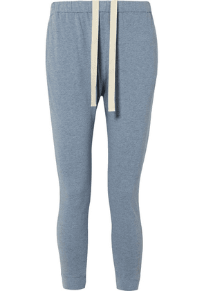 Bassike - Organic Cotton-jersey Track Pants - Light blue