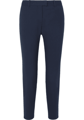 Altuzarra - Henri Wool-blend Slim-leg Pants - Navy