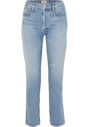 AGOLDE - Remy High-rise Straight-leg Jeans - Light denim