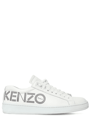 20mm Tennix Logo Leather Sneakers