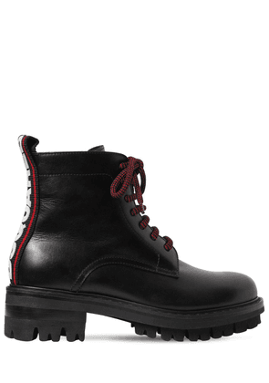 50mm Evolution Tape Leather Boots