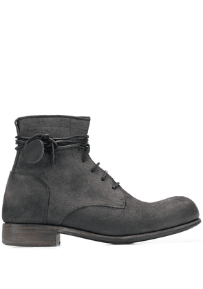 Carpe Diem military boots - Black