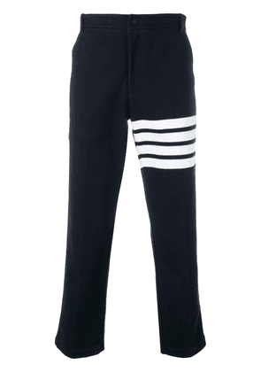 Thom Browne 4-bar Tech Piqué Chino Trousers - Blue