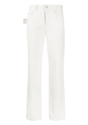 Bottega Veneta straight leg trousers - White