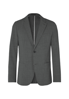 Club Monaco - Grey Grant Slim-fit Unstructured Puppytooth Woven Blazer - Gray