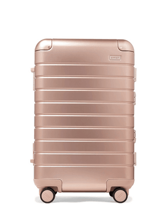 Away - Bigger Carry-on Aluminum Suitcase - Pink