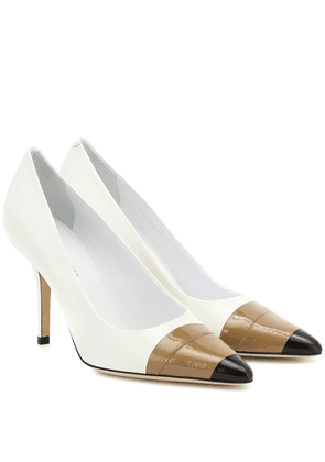 Annalise 90 leather pumps