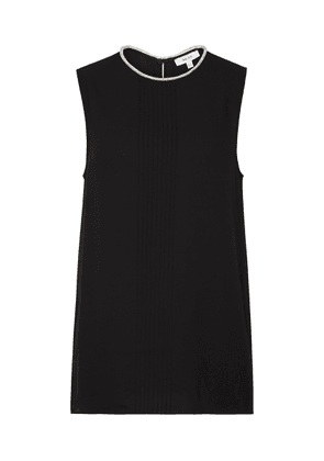 Reiss Milla - Embellished Sleeveless Top in Black, Womens, Size 8