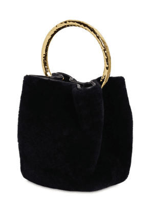 Pannier Shearling Bucket Bag