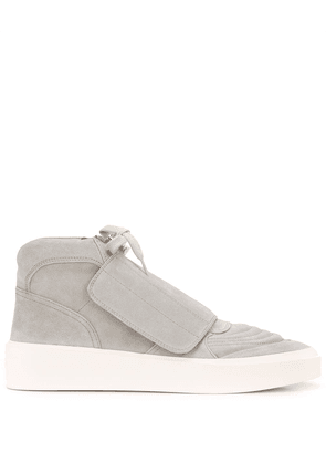 Fear Of God front flap mid-top sneakers - Grey