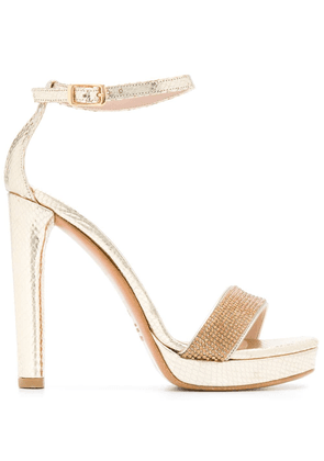 Albano sequinned strap sandals - Gold