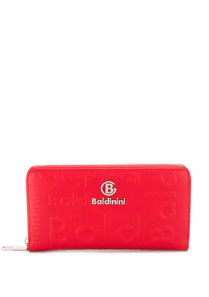 Baldinini embossed continental wallet - Red