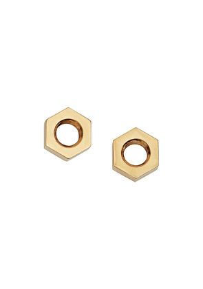 Burberry Gold-plated Nut Earrings