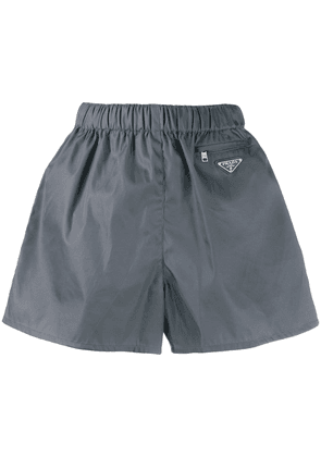 Prada elasticated waistband shorts - Grey