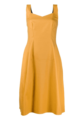 Dorothee Schumacher fitted dress - Yellow