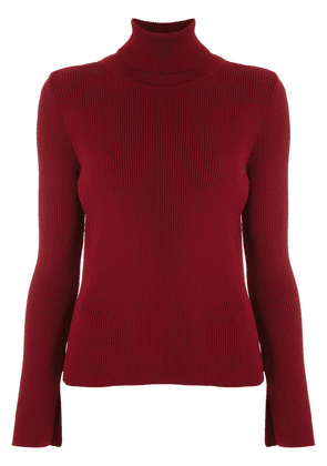 Egrey high neck sweater - Red