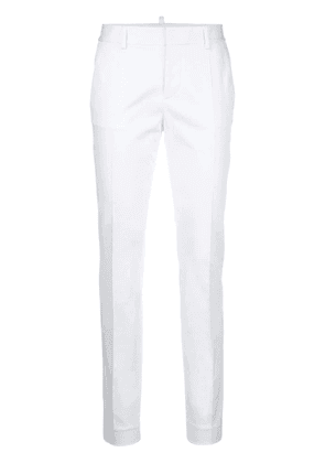 Dsquared2 slim fit trousers - White