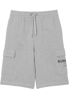 Burberry Horseferry drawcord shorts - Grey