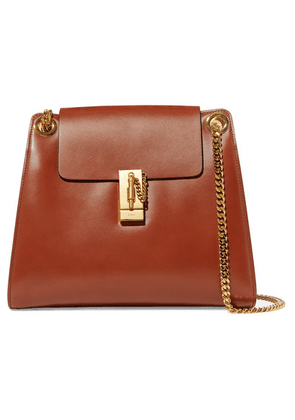 Chloé - Annie Leather Shoulder Bag - Brown