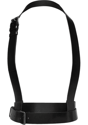 Ann Demeulemeester - Leather Harness - Black