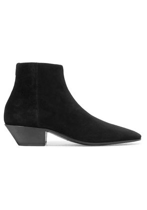 SAINT LAURENT - Jonas Suede Ankle Boots - Black