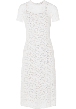 MICHAEL Michael Kors - Crocheted Cotton Dress - White