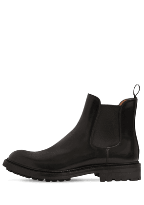 20mm Genie Brushed Leather Boots