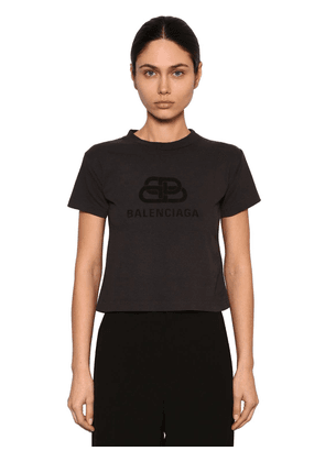 Cropped New Bb Logo Jersey T-shirt