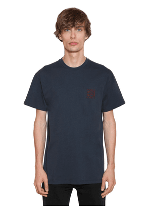 Embroidered Anagram Jersey T-shirt