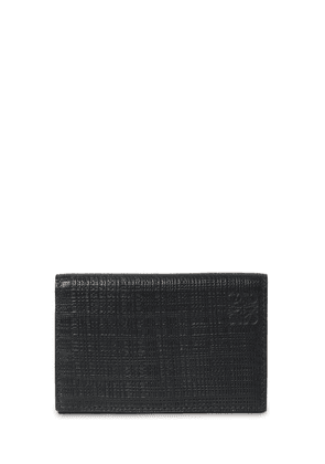 Textured Leather Card Holder