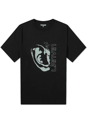 Lanvin Ear Logo Tee Black