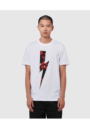 LIGHTNING BOLT FLORAL T-SHIRT