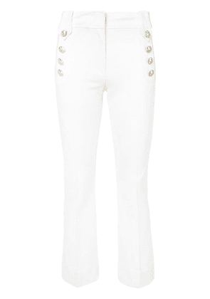 Derek Lam 10 Crosby Robertson Cropped Flare Trouser with Sailor