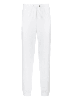 Givenchy logo stripe track pants - White