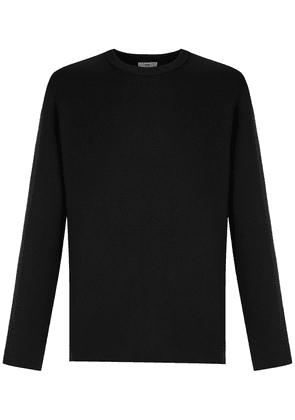 Egrey knitted sweater - Black