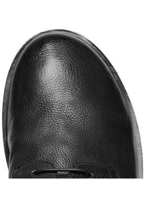 Marsell - Full-grain Leather Derby Shoes - Black