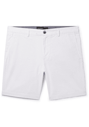 Club Monaco - Maddox Pinstriped Cotton Shorts - White