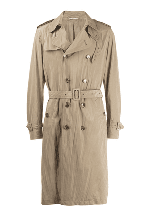 Valentino double-breasted trench coat - Neutrals
