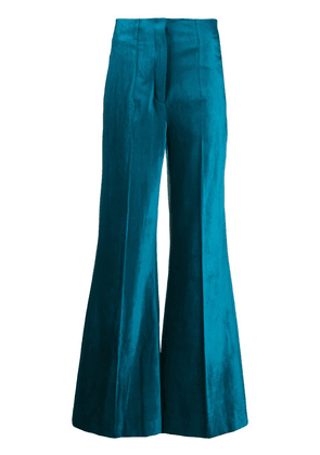 Dorothee Schumacher flared trousers - Blue