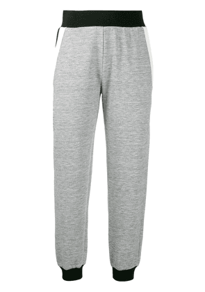 Givenchy black trim track pants - Grey