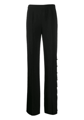 Prada side button trousers - Black