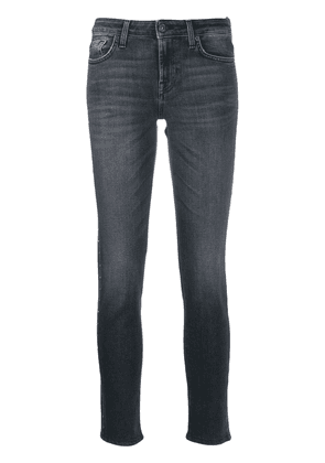 7 For All Mankind studded jeans - Black