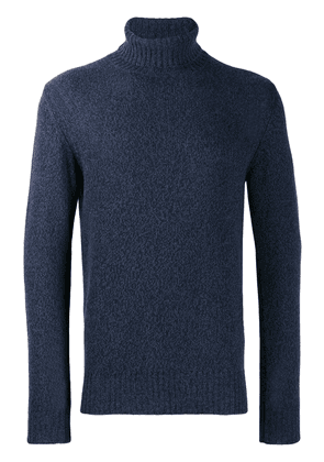 Loro Piana turtle neck jumper - Blue