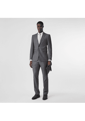 Burberry Classic Fit Sharkskin Wool Suit, Size: 44R, Grey