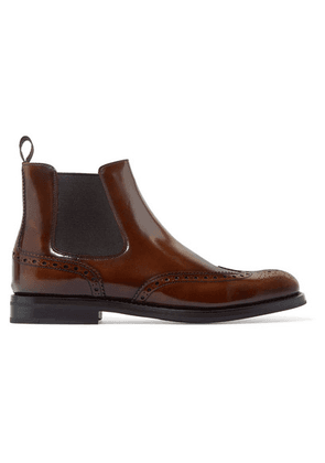 Church's - Ketsby Glossed-leather Chelsea Boots - Brown